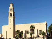 Jaffa St Peter Church 2011 — Stock Photo