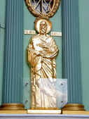 Moscow Sculpture of Apostle Paul 2011 — Stock Photo