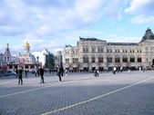Moscow Red Square cobbles 2011 — Stock Photo