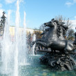 Moscow Alexander Garden Fountain 2011 — Stock Photo #10391785