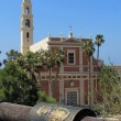 Jaffa Aries zodiacal sign and St Peter Church 2012 — Stock Photo #10482841