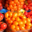 Tel Aviv Bright colorful tomatoes 2011 — Stock Photo
