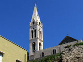 Jaffa Tower of St. George's Church 2012 — Stock Photo