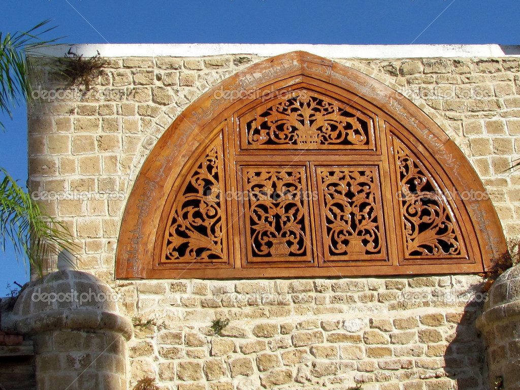 What Is A Mosque Detail: Jaffa Detail Of Mahmoudiya Mosque 2011