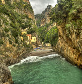 Fiord of Furore,Amalfi coast (Italy) — Stock Photo