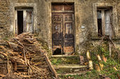 Farmhouse ruined : Limatola loc. Cantinelle (Italy) — 图库照片