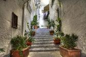 Tipical alley of Amalfi (SA) — Stock Photo