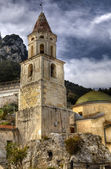 Pogerola (Amalfi coast) church of S. Marina — Foto Stock