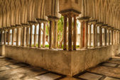 The Cloister of Paradise of Amalfi cathedral 2 — Stock Photo