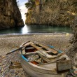 Stock Photo: Fiord of Furore, Amalfi coast, Italy boat in beach