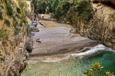 Fiord of Furore,italian fishing village of Amalfi coast — Stock Photo