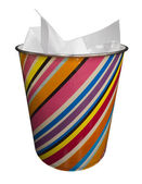 Colored trash — Stock Photo