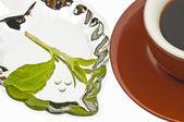 甜叶菊、 糖,支持平板电脑 — 图库照片