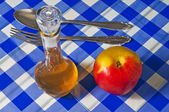 Cider vinegar — Stock Photo