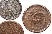 Pièces de monnaie d'Asie — Photo