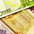 Drachma or euro - Stock Photo