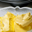 Stock Photo: Margarine with muffin dish