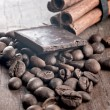 Royalty-Free Stock Photo: Spices and chocolate