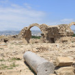 archaeological site in paphos — Stock Photo