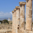 archaeological site in paphos — Stock Photo #10338460