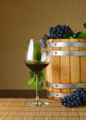 Red wine — Stockfoto