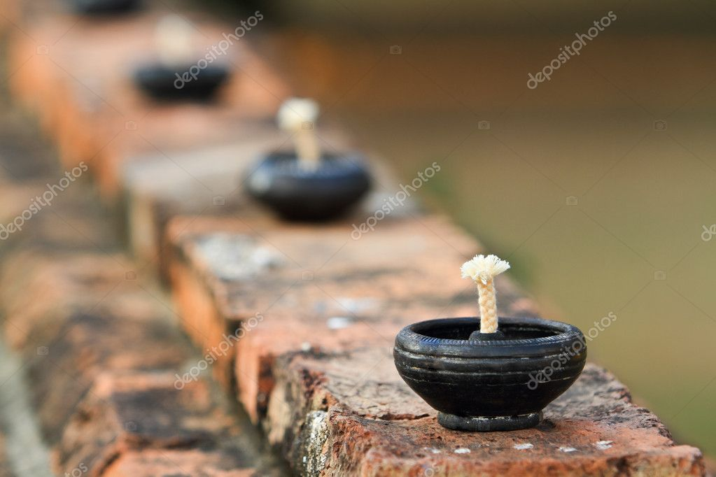 Native oil lamps   Stock Photo #9820804