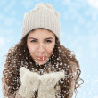 Royalty-Free Stock Photo: Winter woman