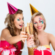 Two girls celebrating birthday — Stock Photo #8422702