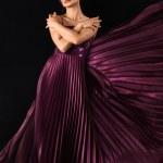 Woman in long dress — Stock Photo #9077772