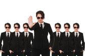 Secret service agents — Stock Photo