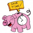 Stock Vector: Save Time
