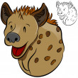 Hyena Wild Animal - Stockvektor