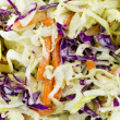 Coleslaw Salad Close Up — Stock Photo