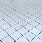 Reflective floor — Stock Photo