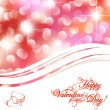 Stock Vector: Valentine day background