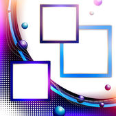 Abstract frame background — Stock Vector