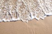 Beach wave movement. — Stock Photo