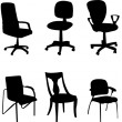 Chairs — Stock Vector #9936294