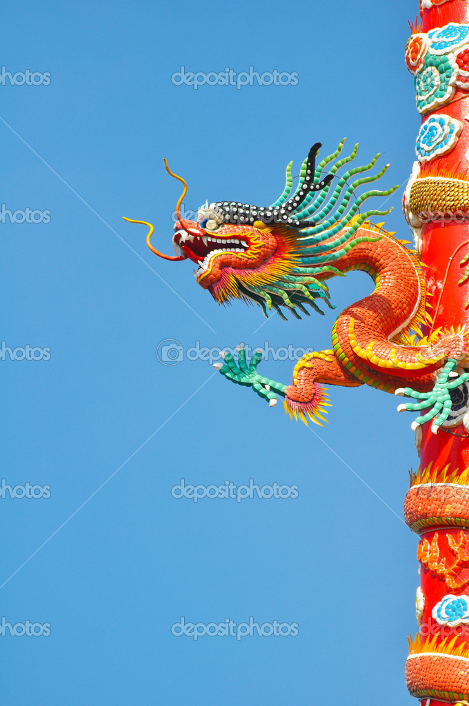 Dragon — Stock Photo #8683402