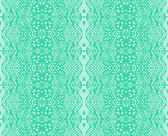 Seamless lace mint color — Stock Vector