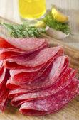 Salami — Stock Photo