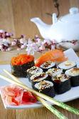 Fresh sushi — Foto de Stock