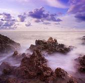 Mar en sunset — Foto de Stock