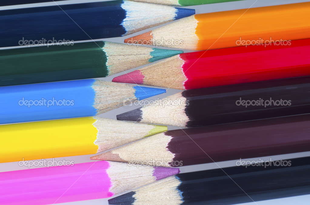 Color pencils  Stock Photo #8272175