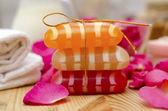 Color soap — Stock Photo
