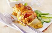 Chicken roll — Stock Photo
