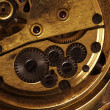 Close up view of gears from old mechanism — Stock Photo #9319019