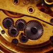 Close up view of gears from old mechanism — Stock Photo #9319049