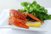 Lobster boiled — Stock Photo
