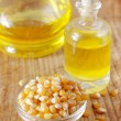 Stock Photo: Corn and oil